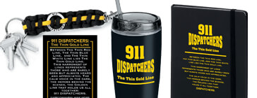 public safety telecommunications: 911 Dispatchers The Thin Gold Line theme products
