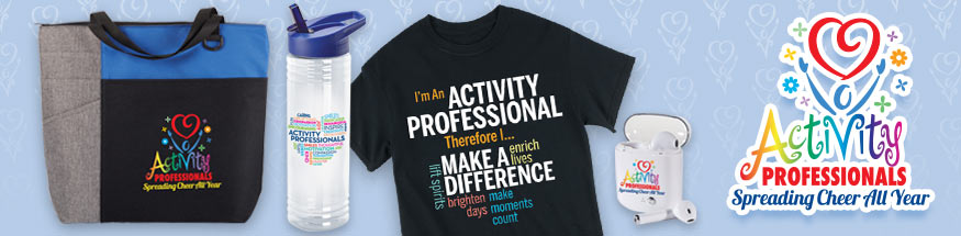 Activity Professionals Appreciation Gifts from Positive Promotions