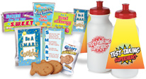 Click here to see our Test Taking Treat Packs & Drinkware Products.