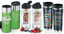 View all of our Teamwork Appreciation Drinkware, including tumblers, soup mugs, water bottles & more.