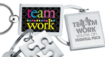 View all of our Teamwork Appreciation Key chains here.