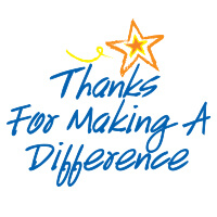 Thanks For Making A Difference theme products