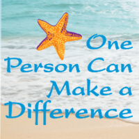 One Person Can Make A Difference theme theme products