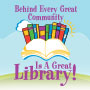 Behind Every Great Community Is A Great Library theme