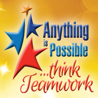 Anything Is Possible Think Teamwork theme products