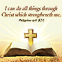 Philippians 4:13 i can do all things through christ theme products