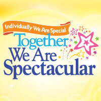 Together We Are Spectacular theme products