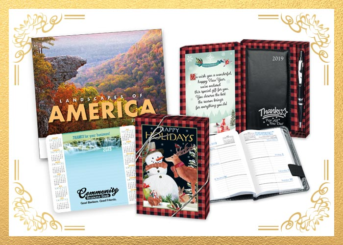 2019 Calendars, planners, greeting card planners