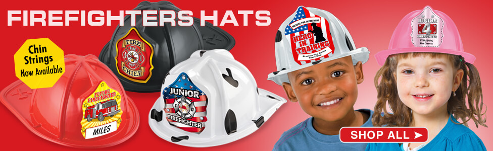 Fire safety and prevention hats. made in the usa fire hats