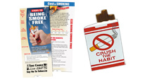 Tobacco prevention and cessation tools provide smokers with the help they need to break the habit.