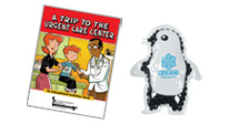 Boo-boo clinic tools to educate and heal children. Educational handouts for visits to the hospital