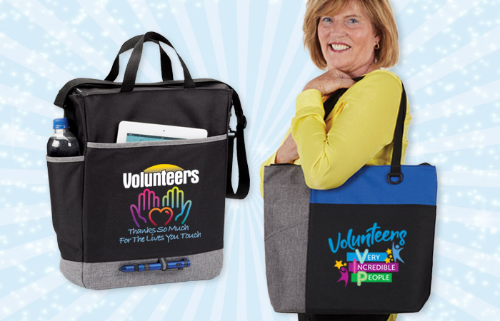 Volunteers Recognition and Appreciation Bags