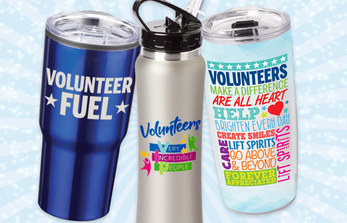 Volunteers Recognition and Appreciation Drinkware Gifts