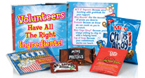 volunteer appreciation, volunteer recognition snacks & sweet treats gifts