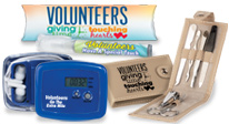 volunteer appreciation, volunteer recognition wellness and safety gifts, personal care gifts