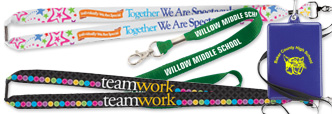 welcome back to school lanyards and badge holders incentives