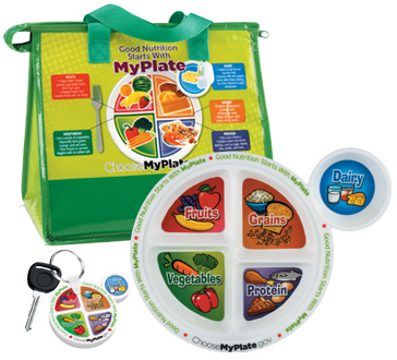 Building awareness about proper nutrition with promotional products, tools, and resources that promote healthier diets and lifestyle choices consistent with the MyPlate program and the Dietary Guidelines for Americans.
