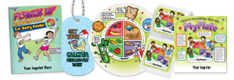 Click here to see our My Plate products for grade school children.