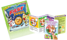 Educational Tools that will teach kids about nutrition and healthy choices.