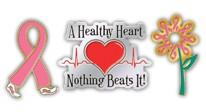 Women's Health Lapel Pins