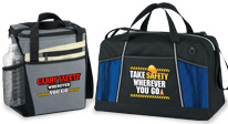 workplace safety bags, lunch bags & backpacks. workplace safety appreciation bags, lunch bags & backpacks gifts
