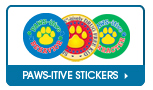 Pawsitive Stickers