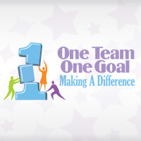 One Team One Goal Making A Difference themed products