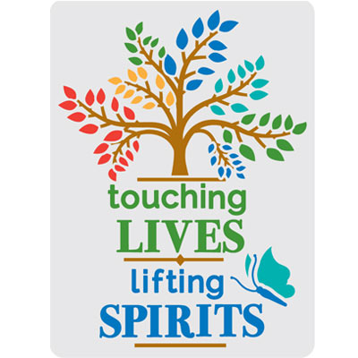 Touching Lives Lifting Spirits Theme from Positive Promotions