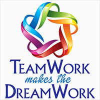 Teamwork Makes The Dreamwork themed products