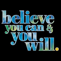 Believe You Can And You Willthemed products