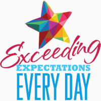 Exceeding Expectations Every Day themed products