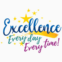 Excellence Everyday Everytime themed products