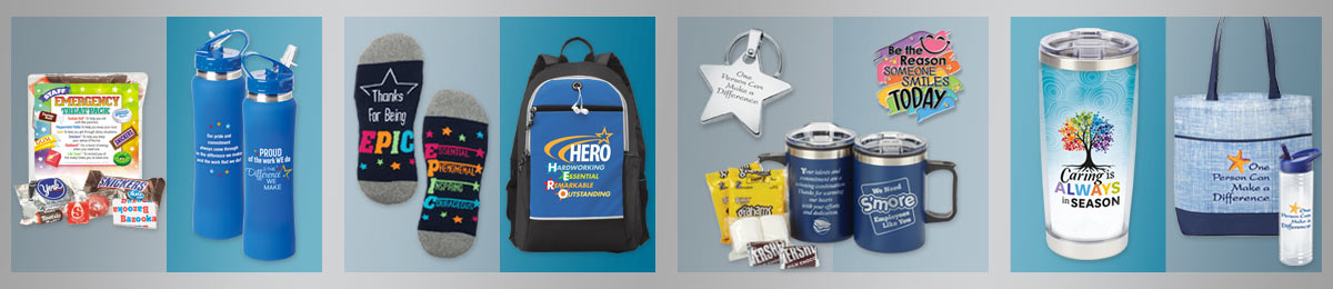 Employee appreciation bags