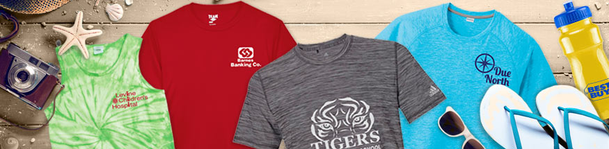 Summer Apparel from Positive Promotions