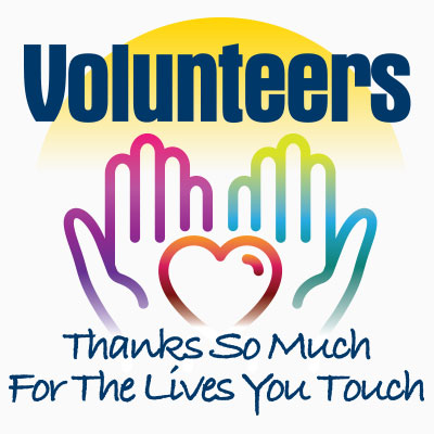 Volunteers Thanks So Much For The Lives You Touch themed products