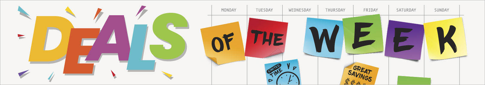Deals Of The Week from Positive Promotions
