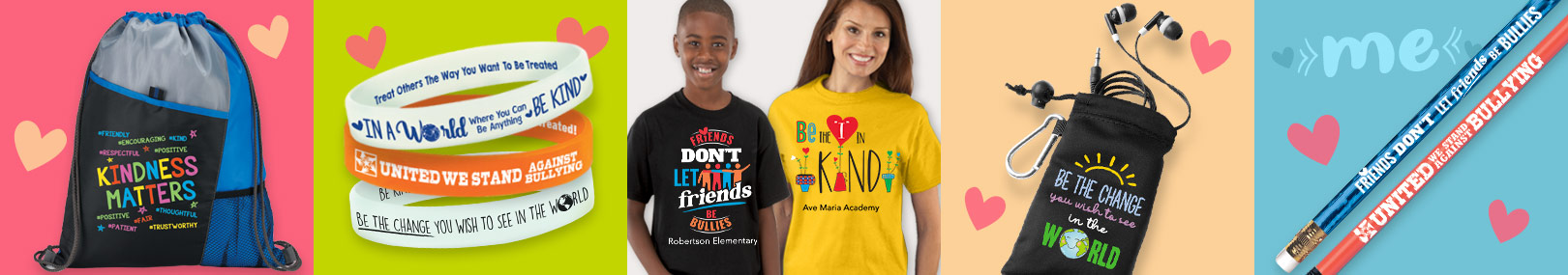 Anti bullying handouts from Positive Promotions