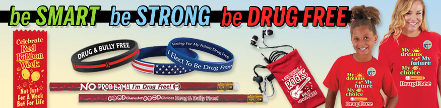 Red ribbon week bracelets