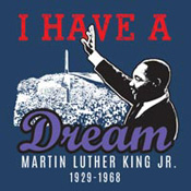 Martin Luther King Jr. I Have A Dream Theme from Positive Promotions
