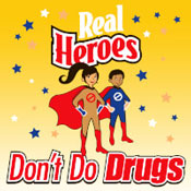 Real Heroes Don't Do Drugs Theme from Positive Promotions