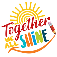 Together We All Shine themed products
