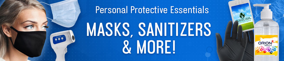 personal protective essentials from Positive Promotions