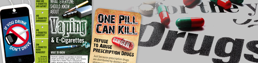 Drug prevention tools from Positive Promotions