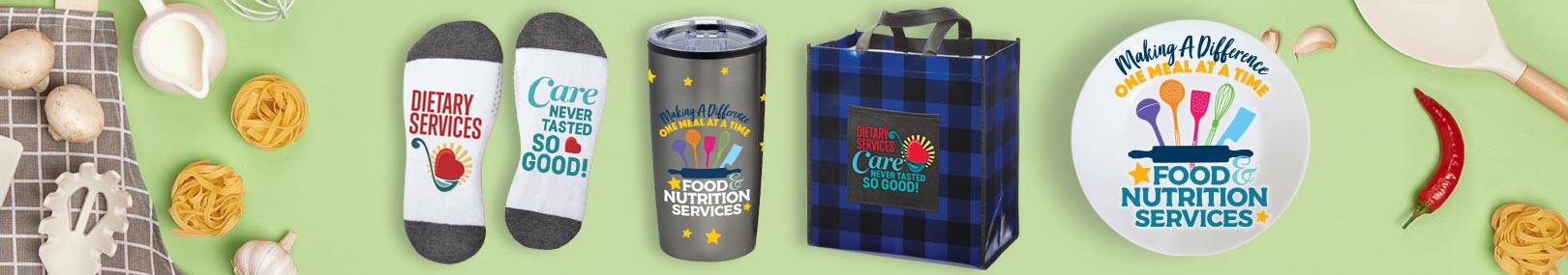Food Service Appreciation Gift Sets & Raffle Packs from Positive Promotions