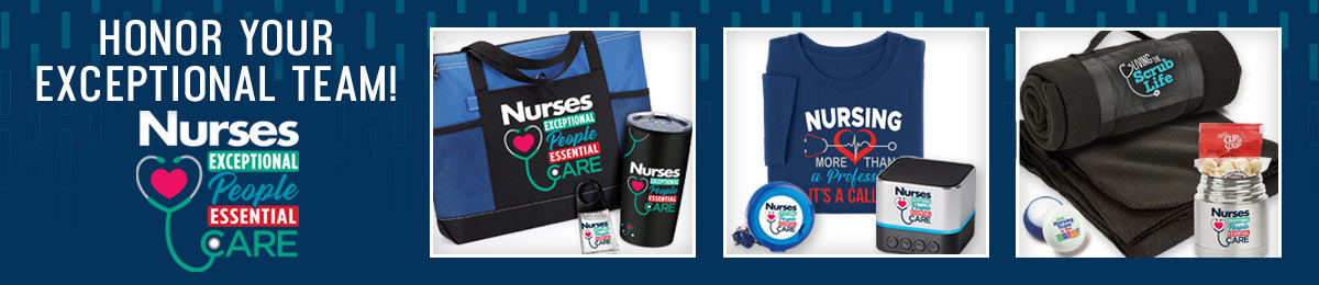 Nurse outdoor items from Positive Promotions