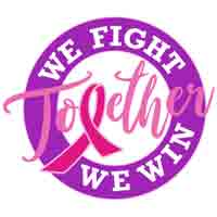 Together We Fight Together We Win themed products