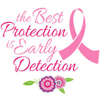 Best Protection is Early Detection themed products