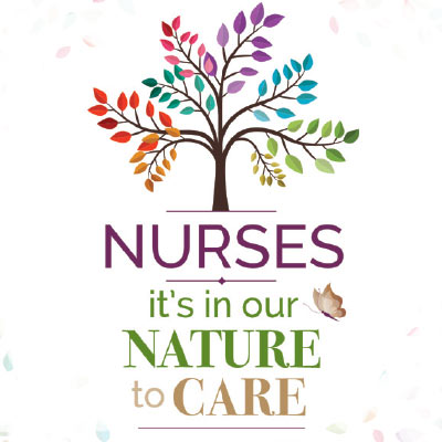 Nurses It's In Our Nature To Care themed products