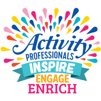 Activity Professionals Inspire Engage Enrich Theme from Positive Promotions