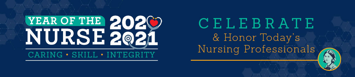 Year Of The Nurse 2021 Caring Skill Integrity from Positive Promotions